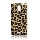 Custodia HTC J Z321e Leopard Cover Rigida - Brown