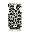 Custodia HTC J Z321e Leopard Cover Rigida - Nero