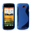 Custodia HTC One S Tipo S Silicone Case - Blu