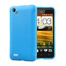 Custodia HTC One SC T528d Silicone Bumper - Blu