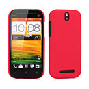 Custodia HTC One ST T528t Sabbie Mobili Cover Bumper - Rosso