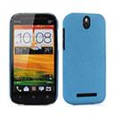 Custodia HTC One SV C525e Sabbie Mobili Cover Bumper - Blu