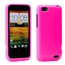 Custodia HTC One V Silicone Case - Fucsia