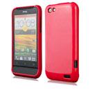 Custodia HTC One V Silicone Case - Rosso