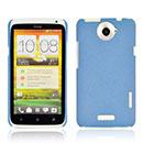 Custodia HTC One X Sabbie Mobili Cover Bumper - Luce Blu