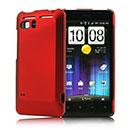Custodia HTC Raider 4G X710e G19 Plastica Cover Rigida Guscio - Rosso