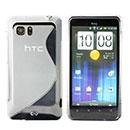 Custodia HTC Raider 4G X710e G19 S-Line Silicone Bumper - Clear