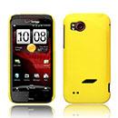 Custodia HTC Rezound Vigor Plastica Cover Rigida Guscio - Giallo