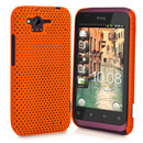 Custodia HTC Rhyme S510b G20 Rete Cover Rigida Guscio - Arancione