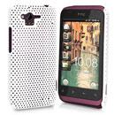 Custodia HTC Rhyme S510b G20 Rete Cover Rigida Guscio - Bianco