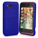 Custodia HTC Rhyme S510b G20 Rete Cover Rigida Guscio - Blu