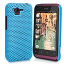 Custodia HTC Rhyme S510b G20 Rete Cover Rigida Guscio - Luce Blu
