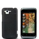 Custodia HTC Rhyme S510b G20 Rete Cover Rigida Guscio - Nero