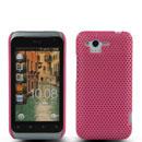 Custodia HTC Rhyme S510b G20 Rete Cover Rigida Guscio - Rosa