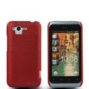 Custodia HTC Rhyme S510b G20 Rete Cover Rigida Guscio - Rosso