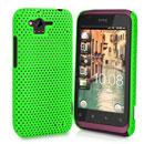 Custodia HTC Rhyme S510b G20 Rete Cover Rigida Guscio - Verde