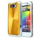 Custodia HTC Sensation XL X315e G21 Alluminio Metal Plated Cover - Golden