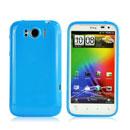 Custodia HTC Sensation XL X315e G21 Silicone Case - Blu