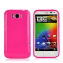 Custodia HTC Sensation XL X315e G21 Silicone Case - Fucsia