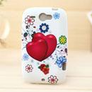 Custodia HTC Wildfire G8 Amore Silicone Case Astuccio - Rosa