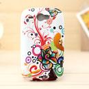 Custodia HTC Wildfire G8 Fiori Silicone Gel Case - Misto
