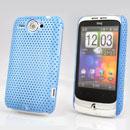 Custodia HTC Wildfire G8 Rete Cover Rigida Guscio - Luce Blu