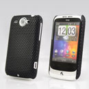 Custodia HTC Wildfire G8 Rete Cover Rigida Guscio - Nero