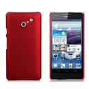 Custodia Huawei Ascend D2 Plastica Cover Rigida Guscio - Rosso