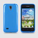 Custodia Huawei Ascend G300 U8815 U8818 Silicone Case - Luce Blu