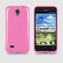 Custodia Huawei Ascend G300 U8815 U8818 Silicone Case - Rosa