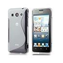 Custodia Huawei Ascend G510 U8951D S-Line Silicone Bumper - Bianco