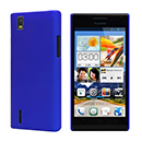 Custodia Huawei Ascend P2 Plastica Cover Rigida Guscio - Blu
