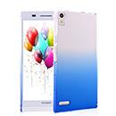 Custodia Huawei Ascend P6 Sfumatura Cover Bumper - Blu