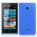Custodia Huawei Ascend W1 Windows Phone Plastica Cover Rigida Guscio - Blu