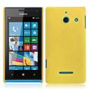 Custodia Huawei Ascend W1 Windows Phone Plastica Cover Rigida Guscio - Giallo
