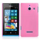 Custodia Huawei Ascend W1 Windows Phone Plastica Cover Rigida Guscio - Rosa