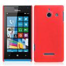 Custodia Huawei Ascend W1 Windows Phone Plastica Cover Rigida Guscio - Rosso
