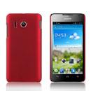 Custodia Huawei Ascend Y300 U8833 Plastica Cover Rigida Guscio - Rosso