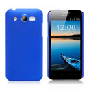 Custodia Huawei Honor U8860 Plastica Cover Rigida Guscio - Blu