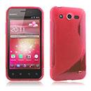 Custodia Huawei Honor U8860 S-Line Silicone Bumper - Rosso
