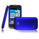 Custodia Huawei Sonic U8650 Plastica Cover Rigida Guscio - Blu