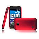 Custodia Huawei Sonic U8650 Plastica Cover Rigida Guscio - Rosso
