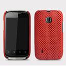 Custodia Huawei Sonic U8650 Rete Cover Rigida Guscio - Rosso