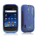 Custodia Huawei Sonic U8650 S-Line Silicone Bumper - Blu