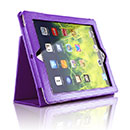 Custodia in Pelle Apple iPad 2 Cover Bumper - Porpora