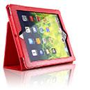 Custodia in Pelle Apple iPad 2 Cover Bumper - Rosso
