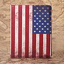 Custodia in Pelle Apple iPad 2 La bandiera degli Stati Uniti Bumper - Misto