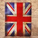 Custodia in Pelle Apple iPad 2 La bandiera del Regno Unito Bumper - Misto
