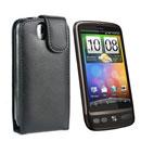 Custodia in Pelle HTC Desire Bravo G7 A8181 Cover - Nero