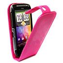 Custodia in Pelle HTC Desire S G12 S510e Cover Bumper - Fucsia